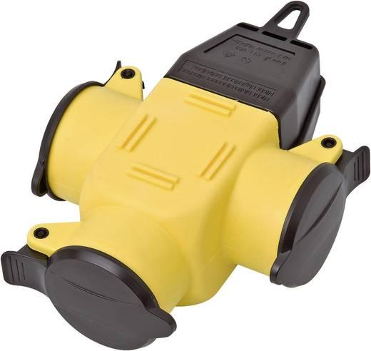 Gumi 230 V, sárga/fekete, IP44 interBär 9007-006.01