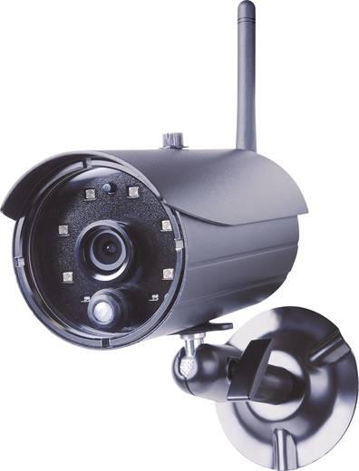 LAN, WLAN, WiFi-s vezeték nélküli kültéri megfigyelő kamera, IP kamera mikrofonnal Smartwares C935IP