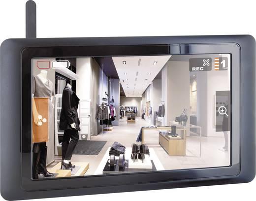Vezeték nélküli biztonsági kültéri kamera, érintőképernyős LCD monitorral Smartwares CS89T