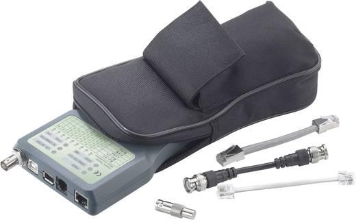 Vezetékvizsgáló, kábelteszter, koax kábel teszter Voltcraft CT-5