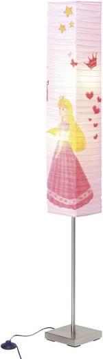 Állólámpa, E14 40 W Brilliant Princess, rózsaszín