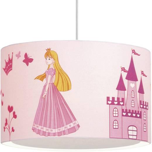 Mennyezeti lámpa, E27 53 W Brilliant Princess Fehér, Rózsa