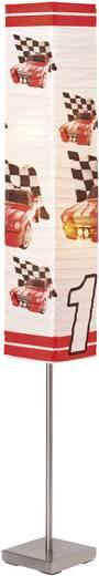 Állólámpa autós mintával, E14 40 W Brilliant Racing, színes