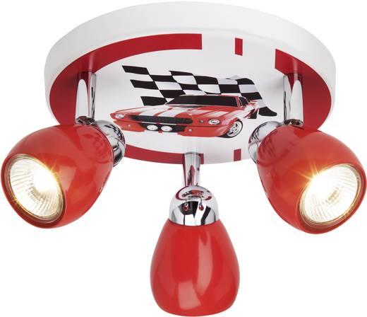 Mennyezeti halogén lámpa autóversenyzős mintával, GU10 50 W, Brilliant Racing