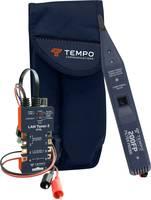 Vezetékvizsgáló kábelteszter és hanggenerátoros vezetékkereső RJ11/RJ45, LAN kábelekhez max. 10 km-ig Greenlee 802K Tempo Communications