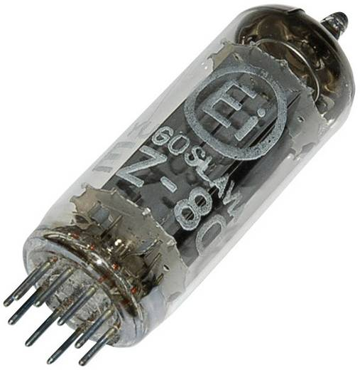 Elektroncső EZ 80 = 6 V 4, pólusszám 9, novál foglalat, Kettős egyenirányító