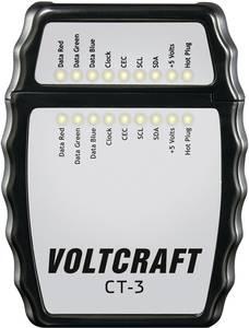HDMI kábel teszter Voltcraft CT-3 VOLTCRAFT