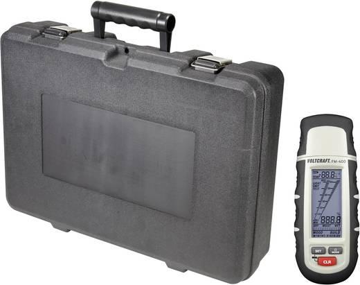 VOLTCRAFT FM-400 Anyagnedvesség mérő, fa- és építőanyag nedvesség mérő táskával