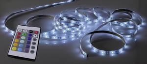 RGB LED szalag készlet távirányítóval, 12 V, 1000 cm, Paul Neuhaus 1205-70 Paul Neuhaus