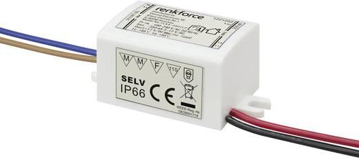 LED meghajtó trafó 1...4W 3...12VDC 350mA, renkforce 9283c57