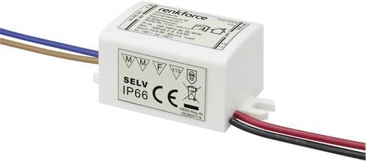 LED meghajtó trafó 1,5...4W 3...9,5VDC 500mA, renkforce 9283c58