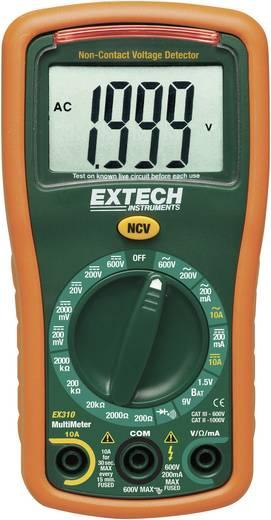 Digitális multiméter, mérőműszer, NCV érintés nélküli feszültség vizsgálattal 10A AC/DC Extech EX310