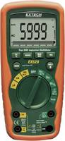 Extech EX520 Kézi multiméter Kalibrált DAkkS digitális Vízálló (IP67) CAT III 1000 V, CAT IV 600 V Kijelző (digitek): 60 (EX520) Extech