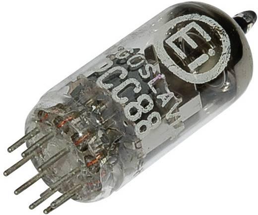 Elektroncső PCC 88 = 7 DJ 8, pólusszám 9, novál foglalat, Kettős trióda