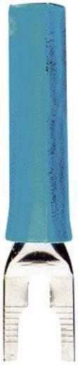 Villás kábelsaru adapter 4mm-es aljzattal 1000V-ig szigetelt kék színű MultiContact B4-I/KS BL