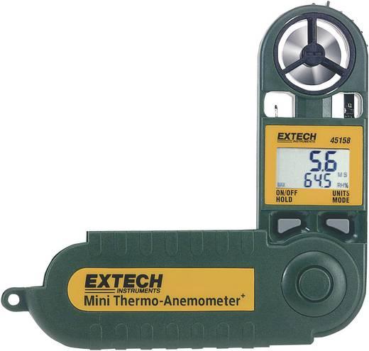 Légáramlásmérő, hő- és páratartalom mérő, Extech 45158