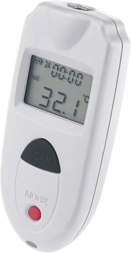 Mini infra hőmérő és levegő hőmérő, 1:1-es optikával -33 +110 °C-ig Voltcraft IR 110-1S