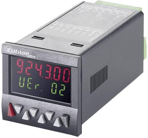 Programozható, beállítható számláló modul beépítési méret 45 x 45 mm 90-260V/AC Kübler Codix 924 AC