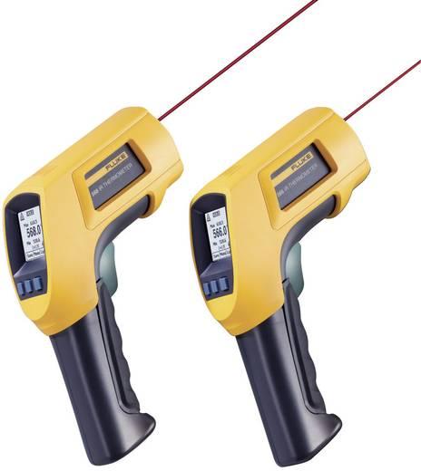 Infravörös hőmérő, távhőmérő és kontakthőmérő 50:1 Optikával Fluke 568