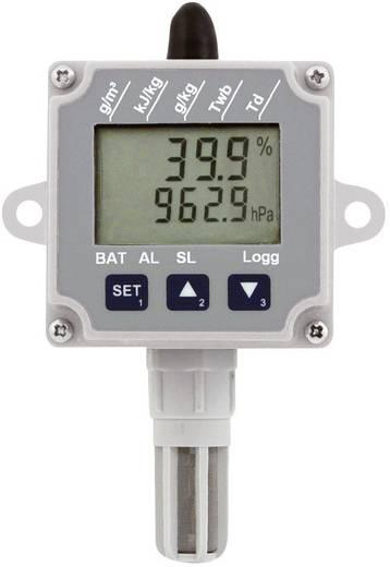 Levegőminőség mérő, hőmérséklet, páratartalom, légnyomás adatgyűjtő Greisinger EASYLOG 80 CL