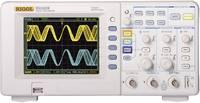Rigol DS1102E Digitális oszcilloszkóp Kalibrált DAkkS 100 MHz 2 csatornás 500 Msa/s 512 kpts 8 bit Digitális memória (DS (DS1102E) Rigol