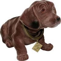 Bólogató kutya autóba, 30 x 10 cm, barna, nagy, Formula 563014 Formula