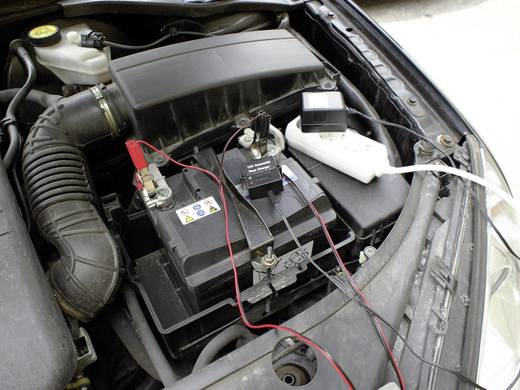 Automatikus ólomakku töltő, autó akkukhoz 12V/500mA Eufab 16505