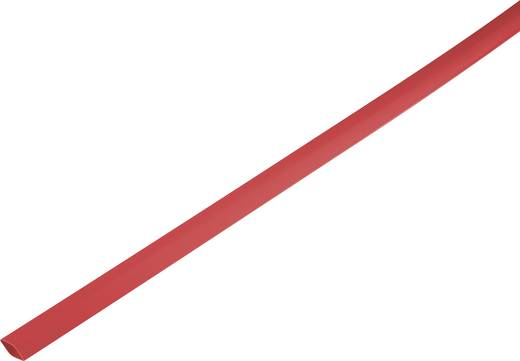 Zsugorcső, vékonyfalú, Ø (zsugorodás előtt/után): 14.7 mm/7 mm, zsugorodási arány 2 : 1, piros