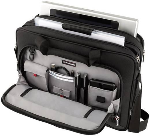 Notebook táska, max. 40,64 cm (16) notebookhoz, fekete, Swissgear Wenger Prospectus Business 15.4, 15.6, 16