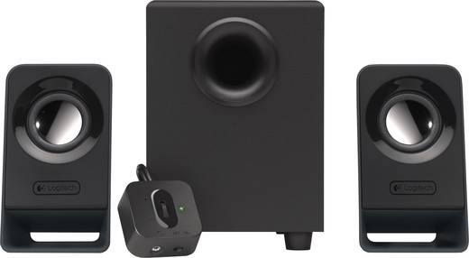 PC hangszórók, hangfalpár, multimédiás hangfal 2.1 Logitech Z213