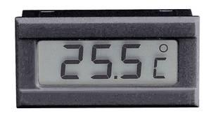 Beépíthető LCD hőmérő modul, panelműszer, elemes hőmérő, beépített érzékelővel 0-tól +50 °C-ig Voltcraft TM-50 VOLTCRAFT