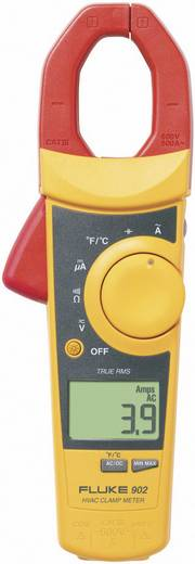 AC/DC árammérő True RMS (valódi effektív érték mérő) lakatfogó multiméter, hőmérséklet méréssel Fluke 902/E