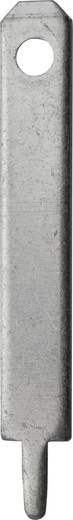 Dugaszoló csúszósaru, 2,8 mm / 0,8 mm 180° szigeteletlen, fémes Vogt Verbindungstechnik 3780l.68 100 db