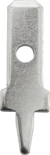 Dugaszoló csúszósaru, 2,8 mm / 0,5 mm 180° szigeteletlen, fémes Vogt Verbindungstechnik 3775a05.68 100 db