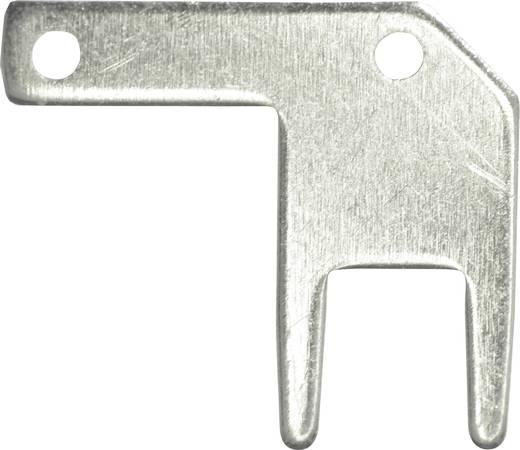 Dugaszoló csúszósaru, 2,8 mm / 0,5 mm 90° szigeteletlen, fémes Vogt Verbindungstechnik 378705.68 100 db