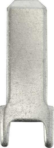 Dugaszoló csúszósaru, 4,8 mm / 0,8 mm 180° szigeteletlen, fémes Vogt Verbindungstechnik 3825z.68 100 db