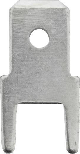 Dugaszoló csúszósaru, 4,8 mm / 0,5 mm 180° szigeteletlen, fémes Vogt Verbindungstechnik 3825l05.68 100 db