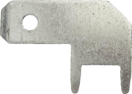 Dugaszoló csúszósaru, 4,8 mm / 0,8 mm 90° szigeteletlen, fémes Vogt Verbindungstechnik 3827b08.68 100 db