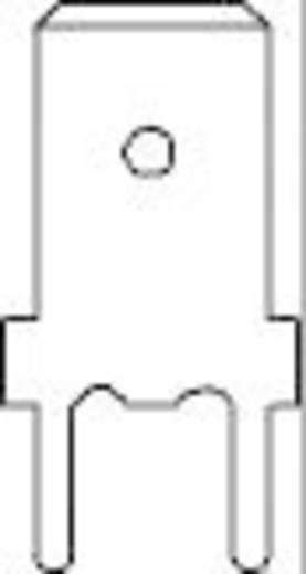 Dugaszoló csúszósaru, 6,3 mm / 0,8 mm 180° szigeteletlen, fémes Vogt Verbindungstechnik 3866z.68 100 db