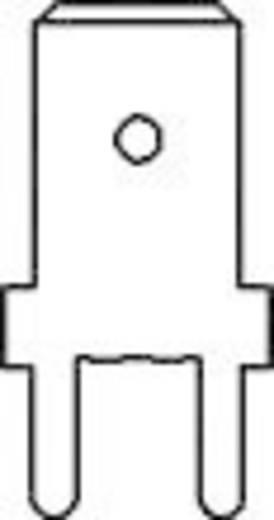 Dugaszoló csúszósaru, 6,3 mm / 0,8 mm 180° szigeteletlen, fémes Vogt Verbindungstechnik 3866b.61 100 db