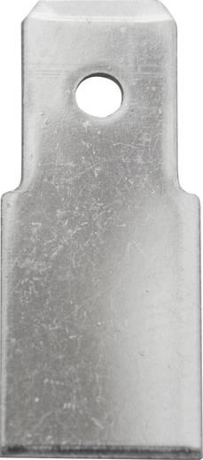 Dugaszoló csúszósaru, 6,3 mm / 0,8 mm 180° szigeteletlen, fémes Vogt Verbindungstechnik 3840.80