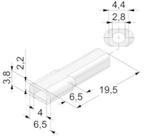 Átlátszó 0.14 mm² 0.5 mm² Vogt Verbindungstechnik 3930pv 1 db