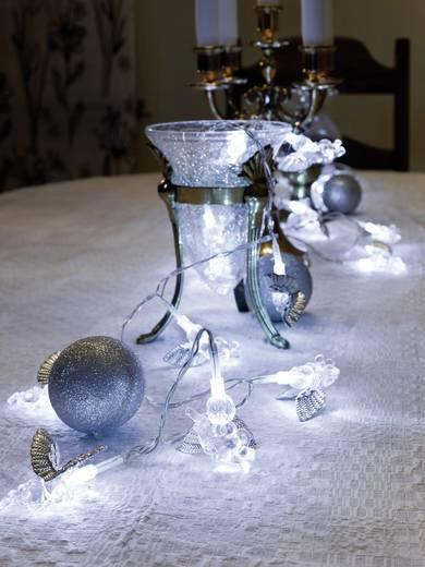 LED-es beltéri fényfüzér angyalkákkal, hidegfehér 530 cm Konstsmide 3149-303