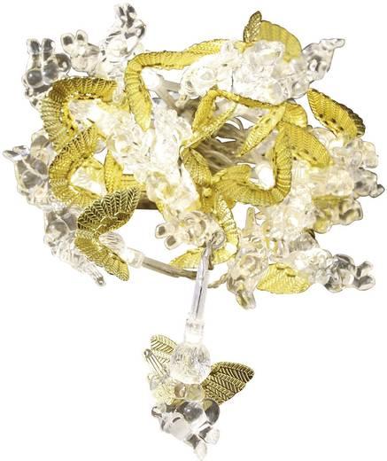 LED-es beltéri fényfüzér, arany gömbökkel, melegfehér 530 cm Konstsmide 3149-803