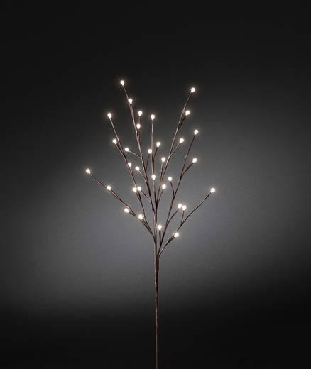 LED-es padlódekoráció, világító faág Konstsmide 3369-600 Barna