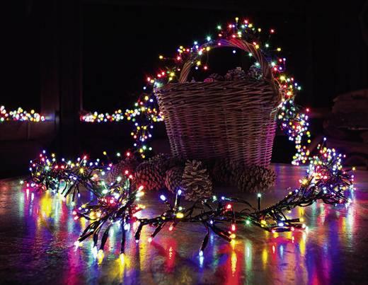 LED-es kültéri színes fényfüzér, 144 LED színes 650 cm Konstsmide 3720-500