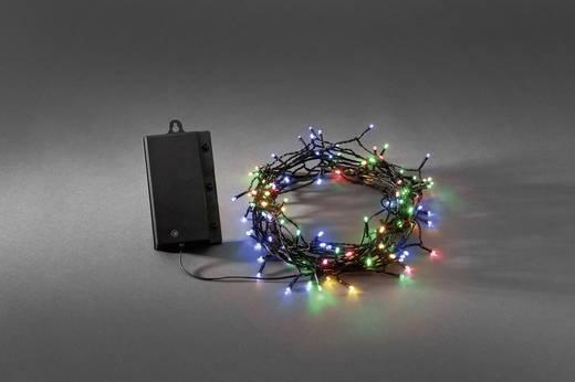 Kültéri LED-es fényfüzér, 240 LED színes 2450 cm Konstsmide 3730-500