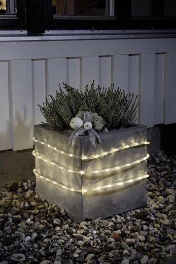 LED-es fénytömlő, 650 cm, átlátszó, Konstsmide 3744-100