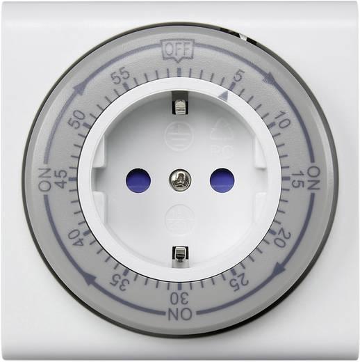Visszaszámláló időzítő, 60 perces, mechanikus