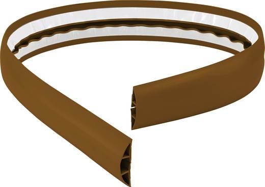 Kábelvezető 1 m x 50,8 mm, barna, Conrad